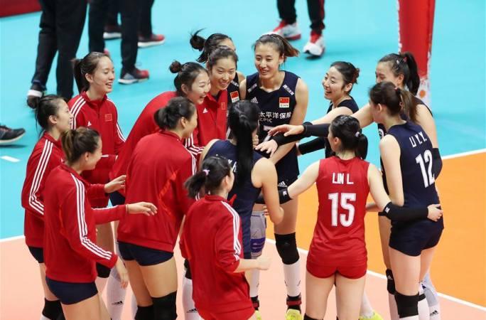 여자 배구 월드컵: 중국, 케냐에 3:0 승리