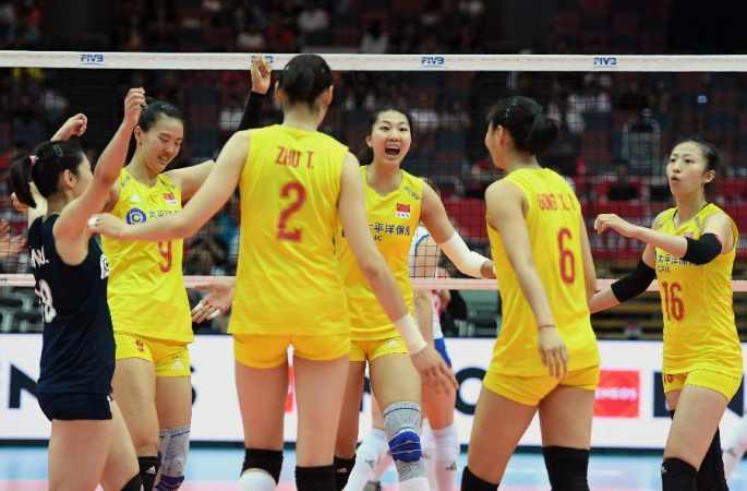 중국, 여자 배구 월드컵서 세르비아에 승리