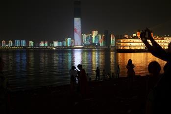 '우한 야경', 국경절 기간 새로운 '왕훙(網紅)' 반열 등극