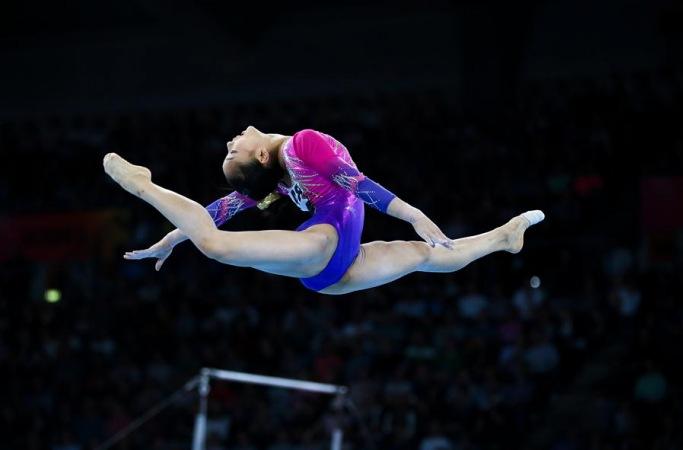 체조—탕첸징, 세계선수권 개인종합 은메달