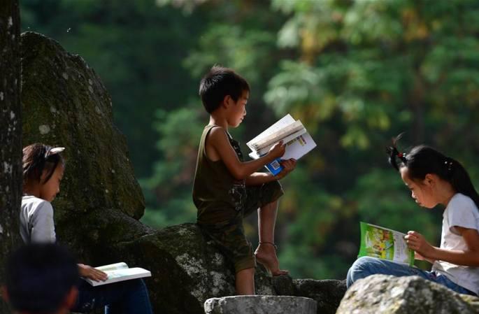 먀오산 탈빈곤 영상기록...책 향기와 함께 영글어 가는 어린이들의 꿈