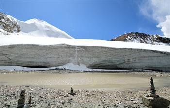 '천상의 풍경' 쿼충강르 빙하