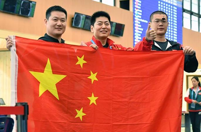 (세계군인체육대회) 사격--중국 대표단, 첫 금메달 수확