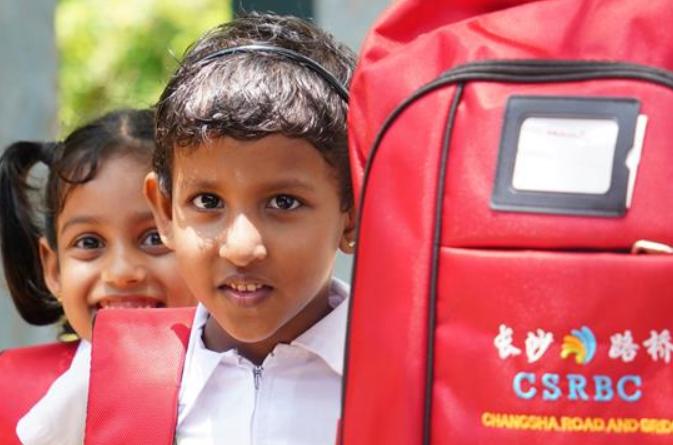 중국 기업, 교사 신축 원조…스리랑카 학교, 교육의 꿈 키워