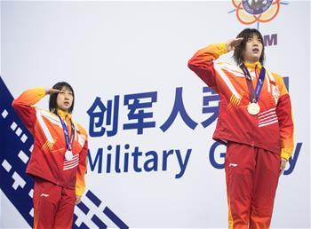 수상구조—中 여자 50m 마네킹 수상구조 결승전서 金·銀