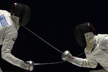펜싱—우크라이나 선수, 남자 에페 결승전서 우승