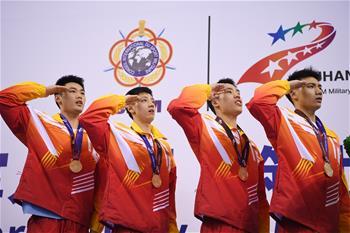 수상구조—中, 남자4X50m 혼영 구조 릴레이 결승전서 우승