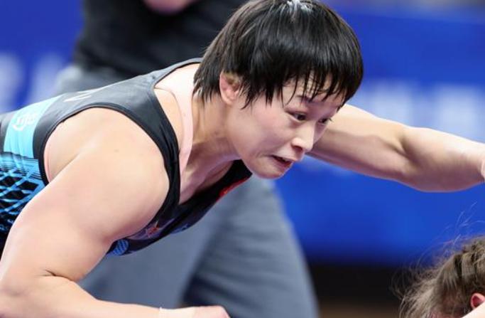 레슬링—리후이, 여자 자유형 57kg급 결승전서 우승