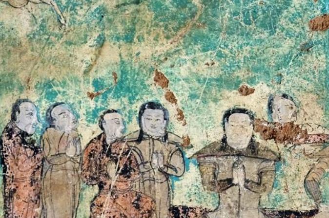 '초원 둔황' 아얼자이 석굴 본체 보강 공사 완료…벽화와 암체 보호