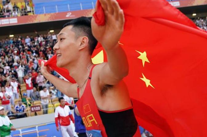 육상경기—-남자 멀리뛰기 금,은메달 싹쓸이