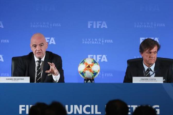 FIFA, 2021년 클럽월드컵 개최지로 중국 낙점