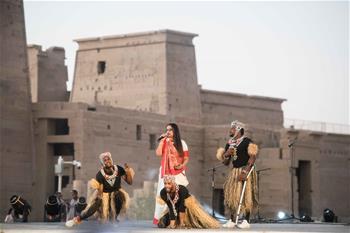 제4회 중국-아프리카 예술제, 이집트 아스완서 개막
