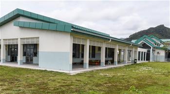 中 건설 지원한 '니하오' 학교, 쿡 제도 어린이들의 꿈 이뤄