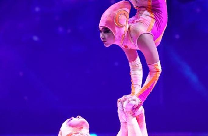 허베이 스자좡: 국제 서커스 공연의 시각 '성연'