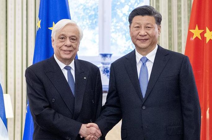 시진핑 中 국가주석, 파블로풀로스 그리스 대통령과 회담