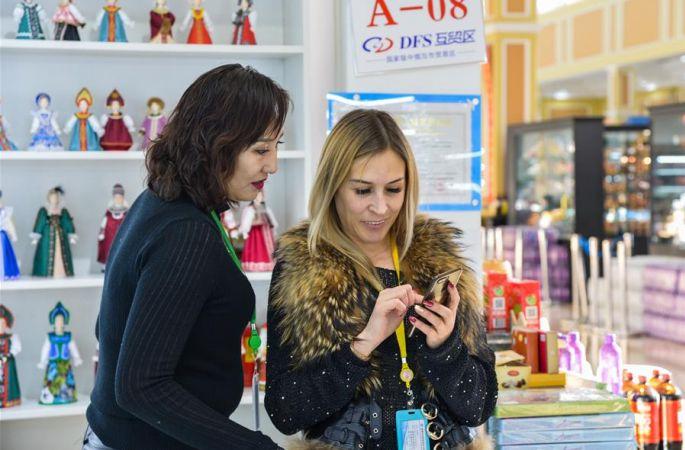 만저우리에서 어엿한 사업가로 변신한 러시아 여성 빅토리아