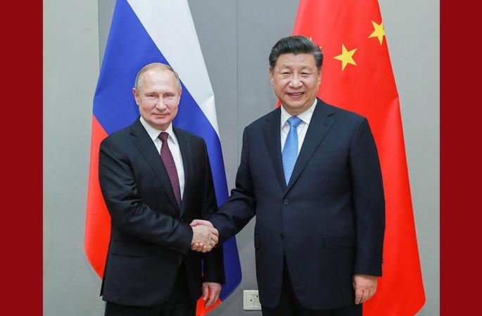 시진핑 中 국가주석, 푸틴 俄 대통령 회견