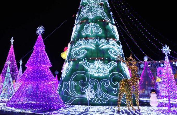 휴스턴 등불 축제 개막…형형색색 빛의 향연