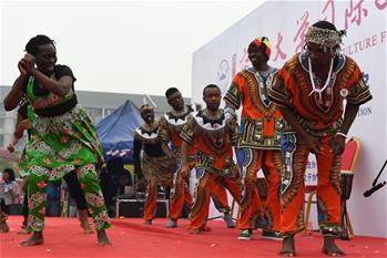 안후이: 캠퍼스 달군 국제 문화 페스티벌