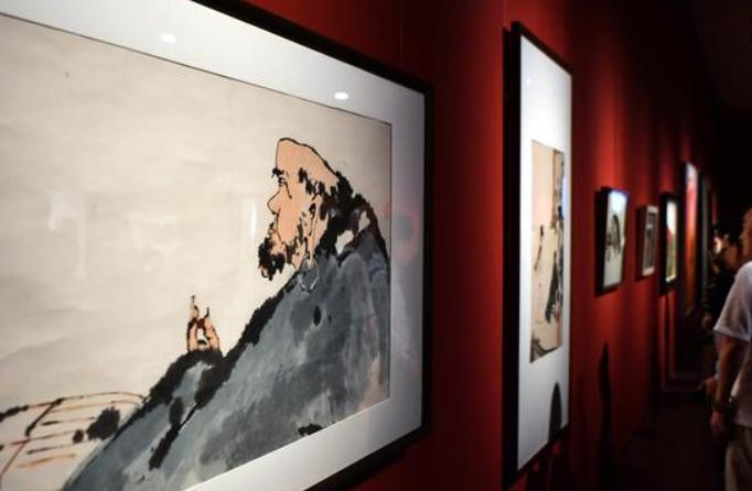 중국미술관 소장품展 하이난서 개막