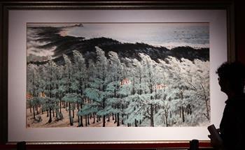 중국미술관 소장 우수 작품, 하이커우서 전시