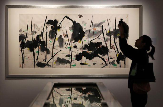 홍콩예술관, 리모델링 후 재개관…우관중 탄생 100주년展