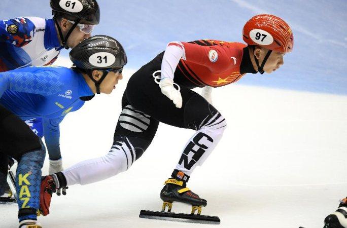 쇼트트랙 월드컵 3차 대회, 中 대표팀 남자 5000m 계주 결선 우승