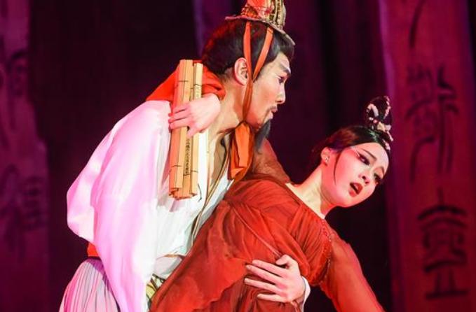 중국 무용극 '공자' 모스크바서 상연