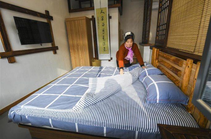 허베이 융칭: 아름다운 농촌 건설에 힘 실어주는 특색 민박