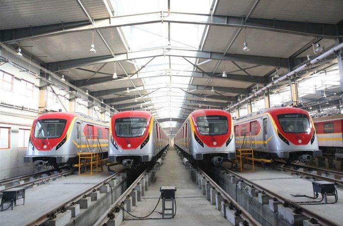 중국-파키스탄 경제회랑 경전철 오렌지라인 프로젝트 건설 완공