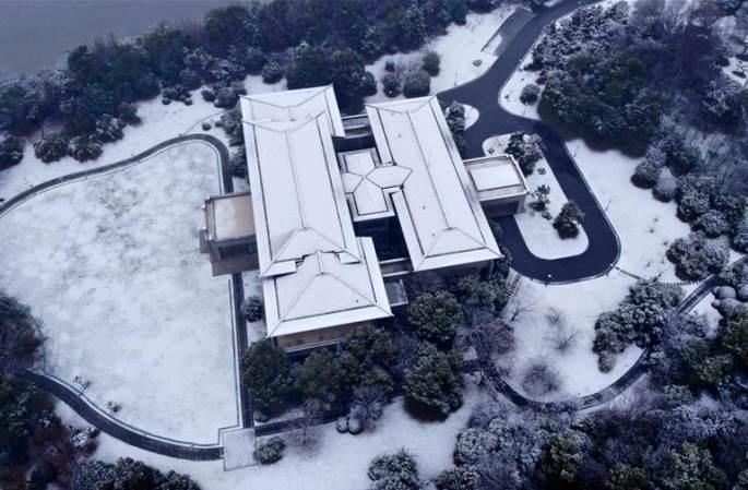 허페이, 눈이 만든 풍경화