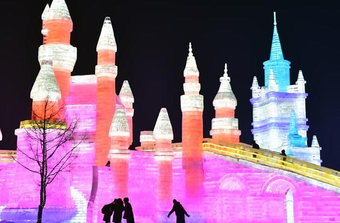 창춘 빙설대세계, 겨울철 관광 새 랜드마크로 부상
