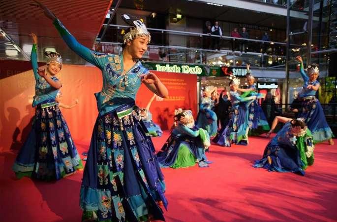 독일 베를린 '즐거운 춘절' 행사 개막…중국 문화 체험의 장