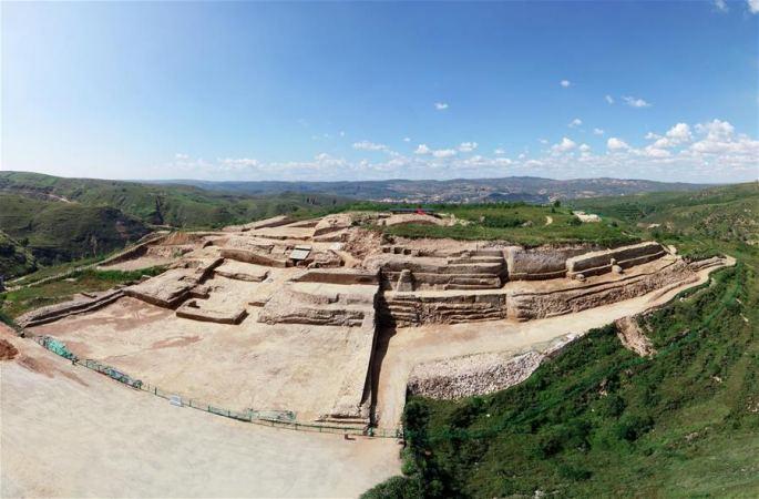 산시 스마오 유적지 황청타이서 정교한 돌조각품 70여점 발견