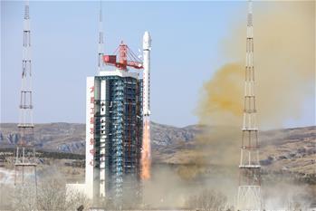 中, '지린1호' 와이드 01위성 성공 발사…소형 위성 3매 탑재 발사