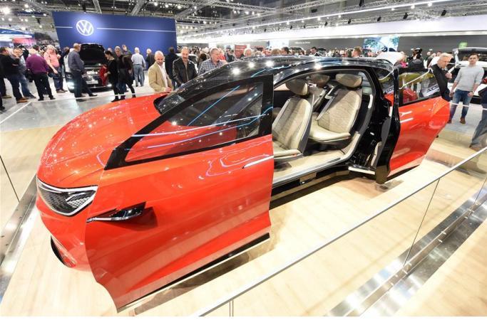 비엔나 모터쇼 개막…中 전기자동차 등장