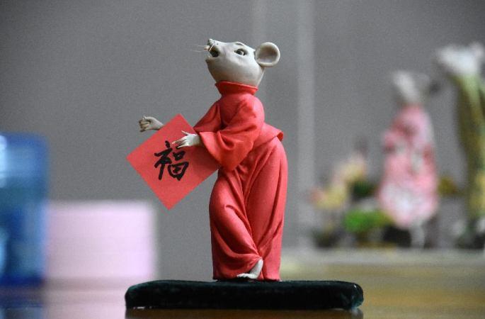 몐쑤 장인 왕디의 쥐띠해 작품