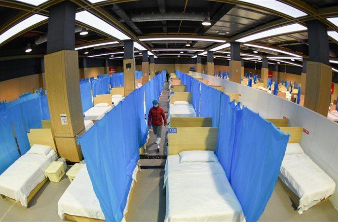 우한, 첫 중의 위주 팡창병원 운영에 투입