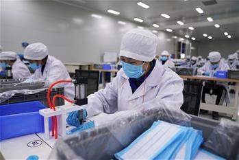 자동차 제조에서 마스크 생산까지—상하이 제너럴모터스 우링, 생산품목 전환으로 방역에 조력