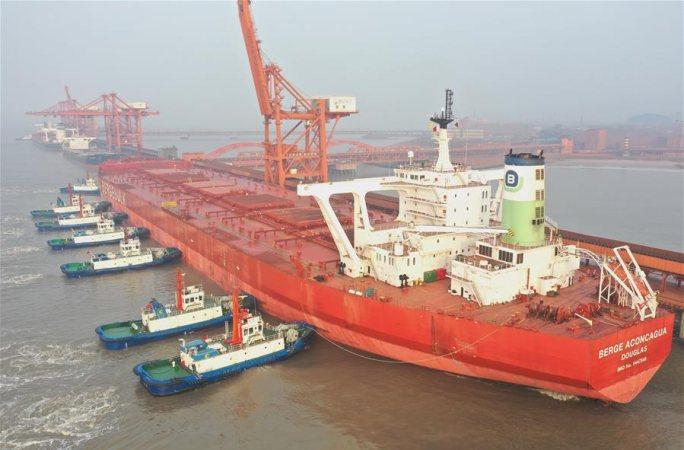 허베이 차오페이뎬 항구 지역, 코로나19 방역과 생산 둘다 놓치지 않아