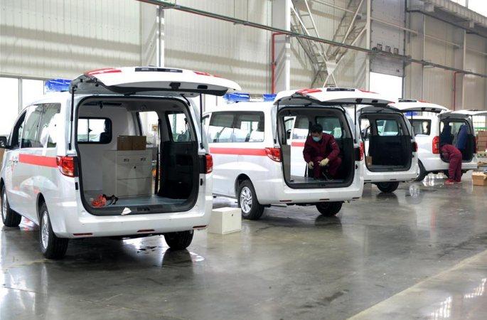 허페이: 구급차 제작 전속력…코로나19 대응 지원