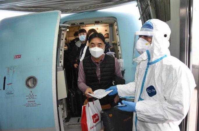 칭다오 공항, 전염병 방역 강화
