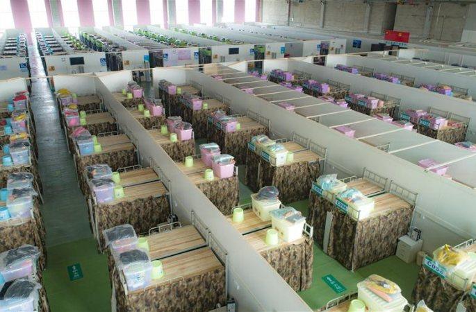 우한: 칭산 난무팡창병원 곧 환자 접수
