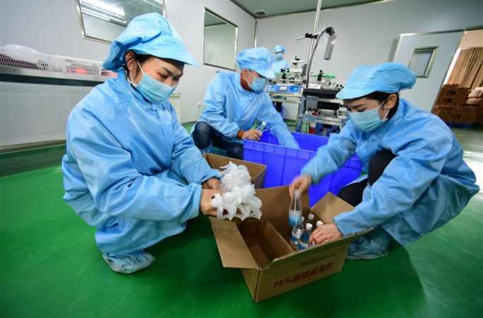 구이저우 젠허: 빈곤구제 생산작업장, 조업·생산 재개 한창