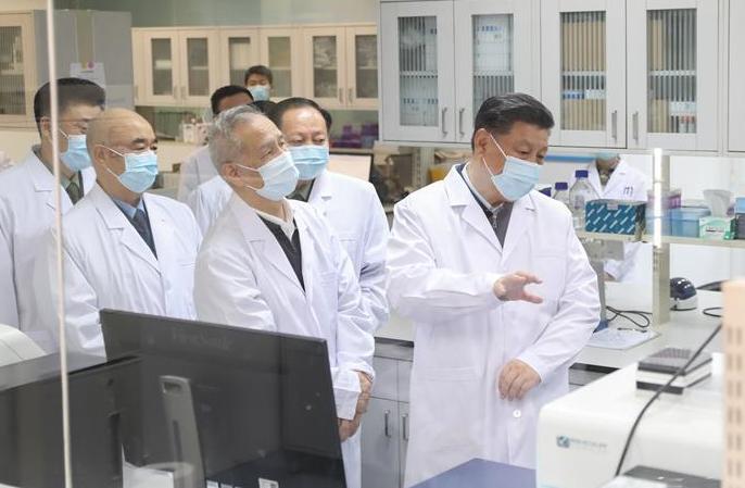시진핑, 베이징서 코로나19 방역 기술연구 현황 시찰