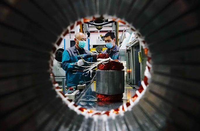 허베이 친황다오: 조업과 생산 질서있게 재개