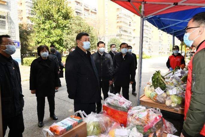 시진핑, 후베이성서 코로나19 방역 업무 시찰