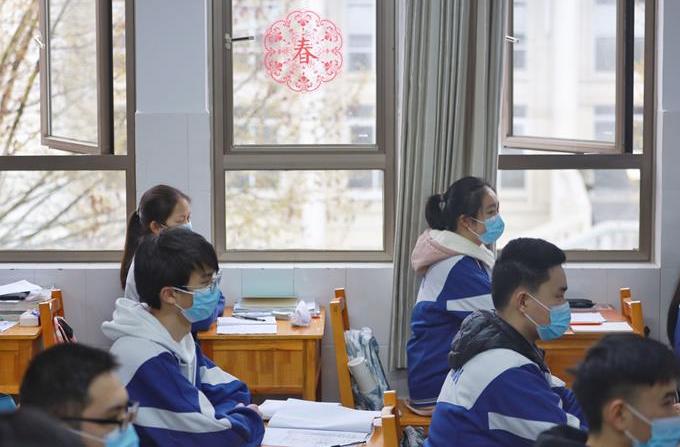 구이저우 중3·고3 학생 개학…수업 재개