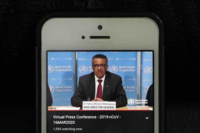 WHO: 中 이외 코로나19 누적 확진 환자수 이미 중국 초과