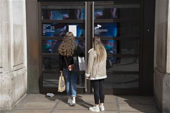 영국 런던: 일부 상점 코로나19로 영업 중단